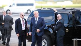 WATCH: US president Donald Trump lands at Shannon Airport