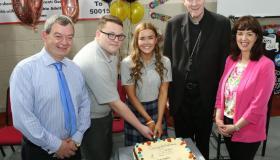 Portarlington secondary school celebrates students and retiring teacher