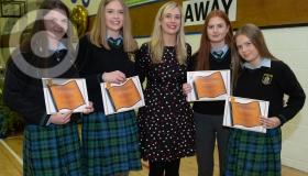Clonaslee College champion students celebrated in pictures
