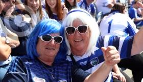 Laois fans out in force in Croke Park #pictures from inside GAA HQ