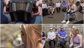 WATCH: Laois musician celebrates qualifying for Fleadh Cheoil na hÉireann