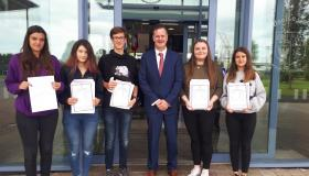 500+ points another crowning glory at Portlaoise College