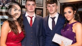 Rain doesn't dampen the spirits of the Clonaslee Collge debs - in pictures