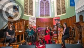 Music Network Laois trad concert in Portlaoise in cameras