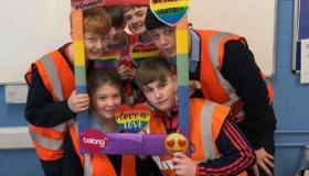 GALLERY: Stand Up Awareness Day at Laois school
