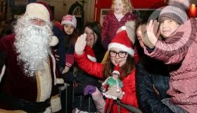 Santa in town to help Portarlington sparkle this Christmas - in pictures