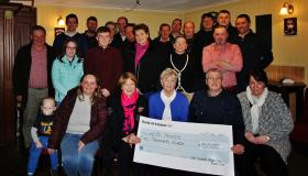 Ballyroan vintage club delivers in thousands for Laois Hospice palliative care