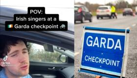WATCH: TikToker nails it with hilarious impressions of Irish singers at a Garda checkpoint