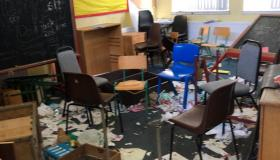 'It's like as if someone died in it' -  shocking #PICTURES of derelict and vandalised Laois school