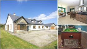 PROPERTY WATCH: Stunning Laois home complete with games room, home cinema and bar enters the market