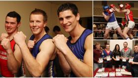 MEMORY LANE: Laois GAA stars battle it out in Footballers vs Hurlers Fight Night (2012)