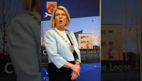 WATCH Laois County Council Cathaoirleach takes the lead in #KeepLaoisinBusiness