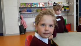 Back to School: Is this the best hairstyle sported by a Junior Infant? We think so!