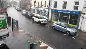 WATCH Rain shower batters Laois as miserable weather continues