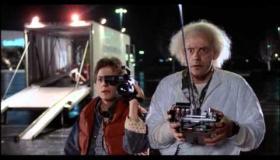 DeLorean Back to the Future car visits Portarlington