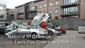WATCH: National champions Laois fire crew  in practice is incredible to see