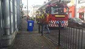 #Watch Ophelia Clean-up: Laois Fire Service on Main Street Portlaoise