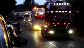 truck tractor convoy