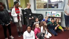Portlaoise Educate Together NS has officially opened its new library