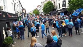 WATCH HILL 16 on Tour - Dubs begin drive for five in Portlaoise in Portlaoise