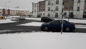 #SNOW Roads slushy in Portlaoise - Laois roads among the worst says AA  #watch