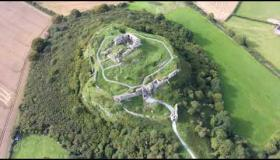 WATCH: Stunning drone video of the Rock of Dunamaise castle ruin in Laois