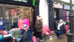 VIDEO: Over 100 fans and one tent in the Portlaoise queue for Ed Sheeran