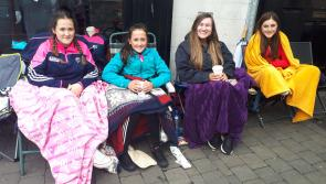 One night down and one to go for fans already queuing for Ed Sheeran tickets in Portlaoise