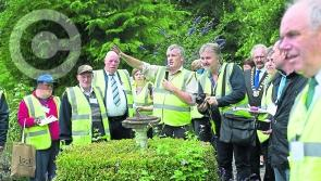 Pictures: Abbeyleix fly the flag for Laois in Entente Florale Europe competition