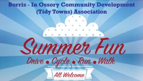 Borris-in-Ossory Summer Fun Run Fundraiser 2017