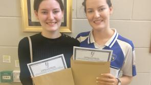 Leaving Cert: Special day for twin sisters in Portlaoise