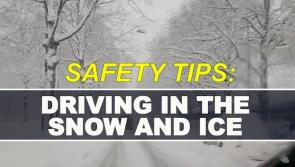 Road Safety Authority advice: Top ten tips for driving in snow and ice