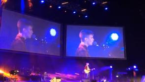 #Watch Laois teenager Curtis Walsh plays to packed 3Arena