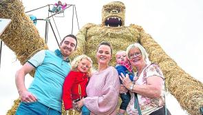 Materials needed as preparations for Durrow Scarecrow Festival are in full swing