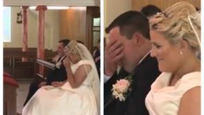 WATCH: Laois dad shocks daughter with surprise Ed Sheeran Elvis wedding duet