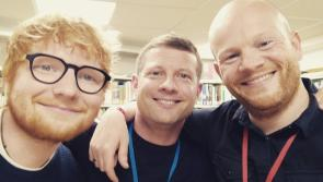 Laois native Gary Dunne, Ed Sheeran and Dermot O'Leary raise funds for London Irish Centre