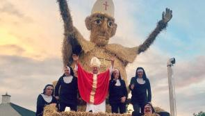 PICTURES: Pope and Popemobile centre stage at Durrow Scarecrow Festival