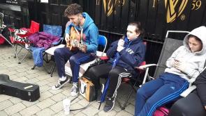 WATCH: Ed Sheeran fan busking entertains Portlaoise ticket queue