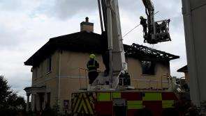 WATCH: Arson suspected in  Portlaoise house fire