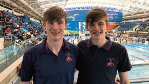 Medals and glory for Mountrath CS swimmers Christopher Carew and Ryan Flynn
