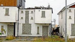 Community field in Portlaoise targeted near derelict housing estate