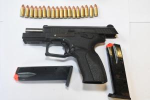 Second hand-gun seized in a  week in Laois after Garda search