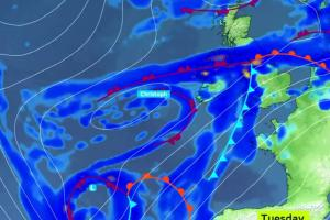 Met Eireann warns Storm Christoph is heading our way and snow wil follow #SNEACHTA