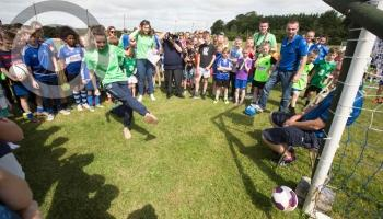 'Brilliant' work being done by Laois soccer clubs which started with 'nothing'