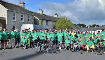 Laois Easyriders charity cyclists to take short spin for charity