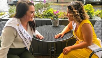 PICTURES: New Laois Rose Sarah Bergin takes on Tralee in style