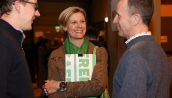 Onwards and upwards for the Green Party, says Pippa Hackett