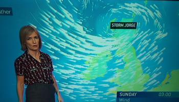 Storm Seán among Irish names on the winter storm list