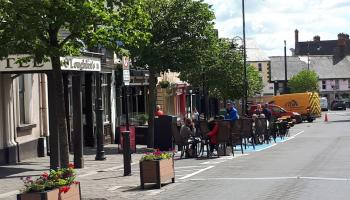 Portlaoise wheelchair parking spaces taken for outdoor dining 'caused upset'