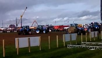 VIDEO: Tractor Football at the National Ploughing Championships